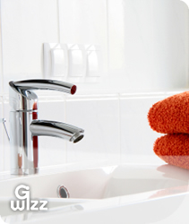G-Wizz specialist cleaning services: Bathroom surfaces, toilets and basins. East Sussex, West Sussex, Hampshire and Kent