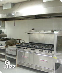 G-Wizz specialist cleaning services: Catering kitchen and extraxtor hood cleaning. East Sussex, West Sussex, Hampshire and Kent